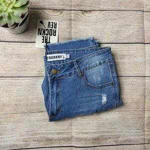 NWT The rockn rev distressed jeans